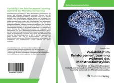 Bookcover of Variabilität im Reinforcement Learning während des Menstruationszyklus