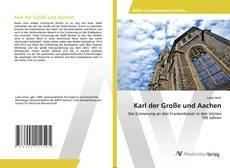 Buchcover von Karl der Große und Aachen