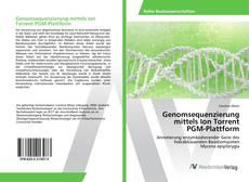 Buchcover von Genomsequenzierung mittels Ion Torrent PGM-Plattform