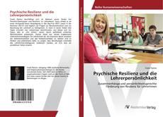 Buchcover von Psychische Resilienz und die Lehrerpersönlichkeit