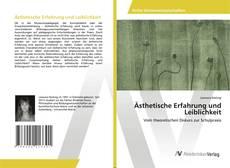 Buchcover von Ästhetische Erfahrung und Leiblichkeit