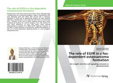 Bookcover of The role of EGFR in c-fos-dependent osteosarcoma formation