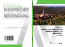 Buchcover von Qualitative Analyse von Weintourismus bei Weingüter