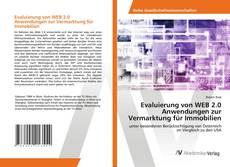 Bookcover of Evaluierung von WEB 2.0 Anwendungen zur Vermarktung für Immobilien