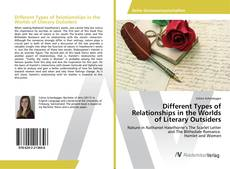 Buchcover von Different Types of Relationships in the Worlds of Literary Outsiders