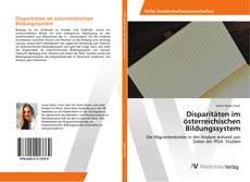 Buchcover von Disparitäten im österreichischen Bildungssystem