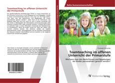 Обложка Teamteaching im offenen Unterricht der Primarstufe