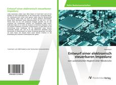 Обложка Entwurf einer elektronisch steuerbaren Impedanz