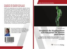 Buchcover von Vergleich der Kopfposition zum Körperlot im Stehen und Gehen