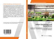 Couverture de Urban Gardening und Governance