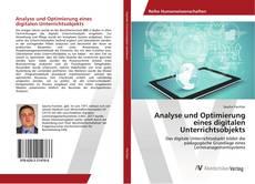 Couverture de Analyse und Optimierung eines digitalen Unterrichtsobjekts
