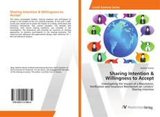 Bookcover of Sharing Intention & Willingness to Accept