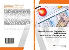 Digitalisierung, Big Data und Performance Measurement/Management的封面