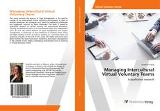 Couverture de Managing Intercultural Virtual Voluntary Teams
