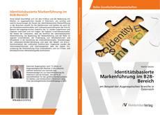 Обложка Identitätsbasierte Markenführung im B2B-Bereich