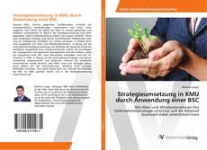 Bookcover of Strategieumsetzung in KMU durch Anwendung einer BSC