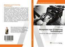 Borítókép a  Akzeptanz von E-Learning Technologien - hoz