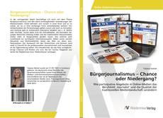 Portada del libro de Bürgerjournalismus – Chance oder Niedergang?