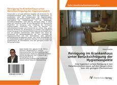 Buchcover von Reinigung im Krankenhaus unter Berücksichtigung der Hygieneaspekte