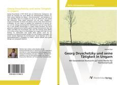 Capa do livro de Georg Druschetzky und seine Tätigkeit in Ungarn