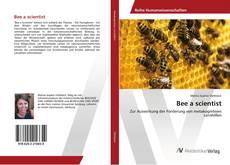 Capa do livro de Bee a scientist