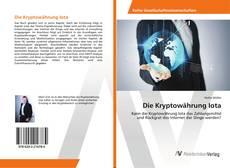 Bookcover of Die Kryptowährung Iota