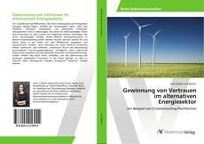 Bookcover of Gewinnung von Vertrauen im alternativen Energiesektor