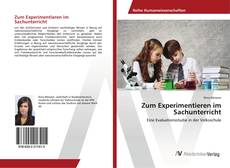 Bookcover of Zum Experimentieren im Sachunterricht