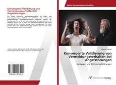 Couverture de Konvergente Validierung von Vermeidungsverhalten bei Angststörungen
