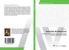 Inclusive Architecture kitap kapağı