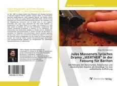 """Buchcover von Jules Massenets lyrisches Drama """"WERTHER"""" in der Fassung für Bariton"""