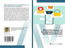 Micro-Interactions on Smartphones: An Email Notification Redesign kitap kapağı