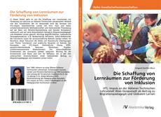 Bookcover of Die Schaffung von Lernräumen zur Förderung von Inklusion