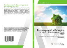 Portada del libro de Development of a Cohousing project - am example from Italy