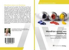 Mondrian versus van Doesburg kitap kapağı