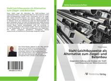 Buchcover von Stahl-Leichtbauweise als Alternative zum Ziegel- und Betonbau