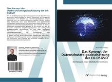 Buchcover von Das Konzept der Datenschutzfolgeabschätzung der EU-DSGVO