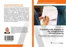 Buchcover von Transkulturelle Aspekte in der pflegerischen Akutversorgung