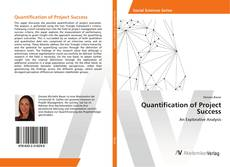 Couverture de Quantification of Project Success