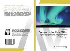 Redensarten bei Herta Müller kitap kapağı