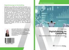 Capa do livro de Digitalisierung im Controlling
