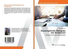 Capa do livro de Steueroptimale Übergabe von Arztpraxen