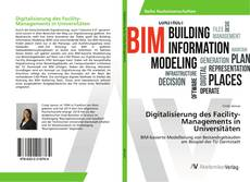 Couverture de Digitalisierung des Facility-Managements in Universitäten