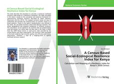 Bookcover of A Census-Based Social-Ecological Resilience Index for Kenya