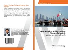 Qatari Foreign Policy during the Arab Spring kitap kapağı