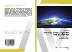 Portada del libro de Weltbild eines Fragenden und Suchenden
