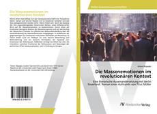 Portada del libro de Die Massenemotionen im revolutionären Kontext