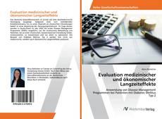 Buchcover von Evaluation medizinischer und ökonomischer Langzeiteffekte