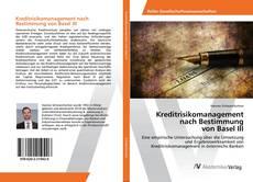 Portada del libro de Kreditrisikomanagement nach Bestimmung von Basel III