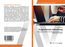 Buchcover von Programmatic Advertising
